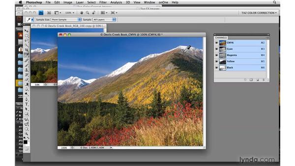 Building block channels: Photoshop CS4: Color Correction