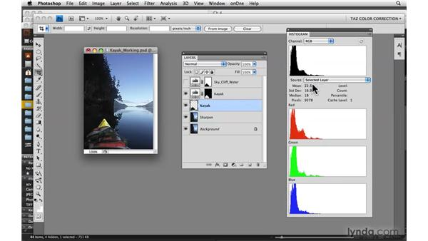 Going into details with histograms: Photoshop CS4: Color Correction