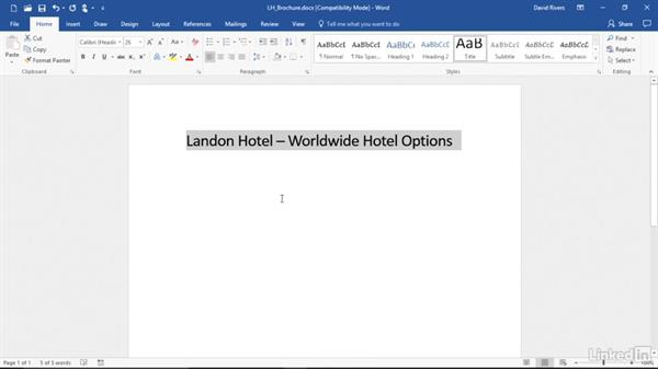 Create a new document in Box Edit: Box.com Essential Training