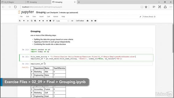 Grouping: Pandas for Data Science
