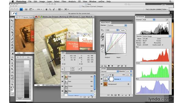 Applying two-step target-based corrections: Photoshop CS4: Color Correction