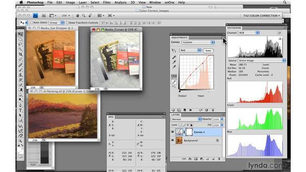 Saving Curves settings: Photoshop CS4: Color Correction
