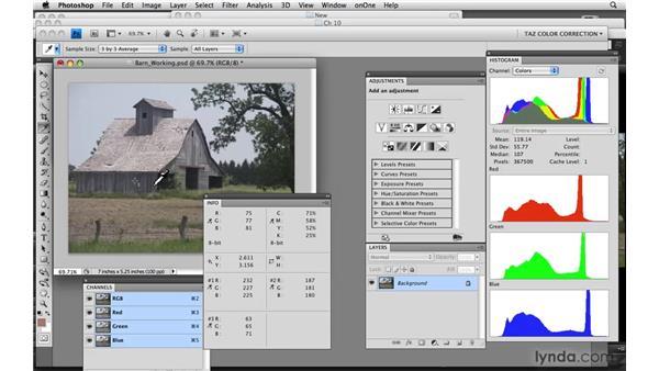 Flat images: Photoshop CS4: Color Correction