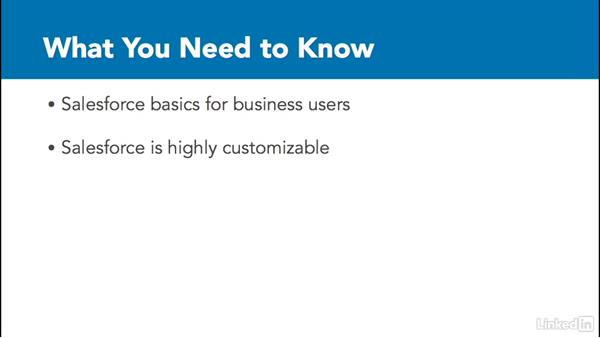 What you need to know before watching: Learn Salesforce: The Basics