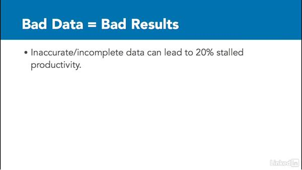 Understand data quality: Learn Salesforce: The Basics