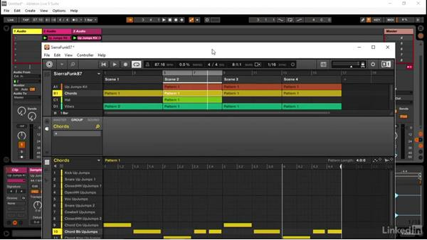 Getting audio into Ableton from MASCHINE via drag and drop: Using MASCHINE with Ableton Live