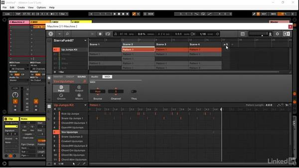 How to drag and drop multichannel MIDI from MASCHINE into Ableton: Using MASCHINE with Ableton Live