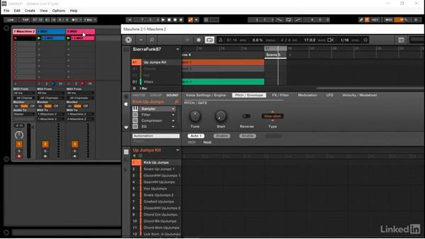 Automating MASCHINE parameters in Ableton: Using MASCHINE with Ableton Live