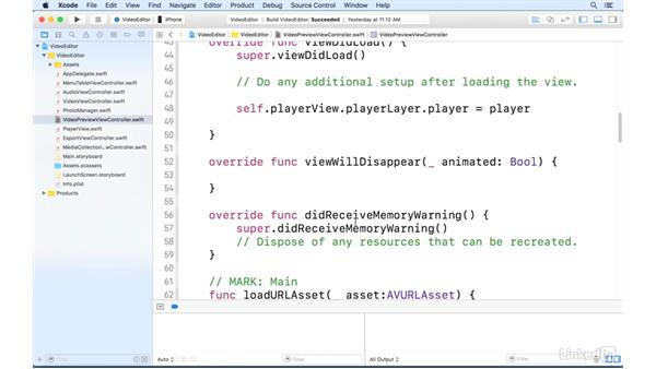 View the recording: AVFoundation Essentials for iOS with Swift