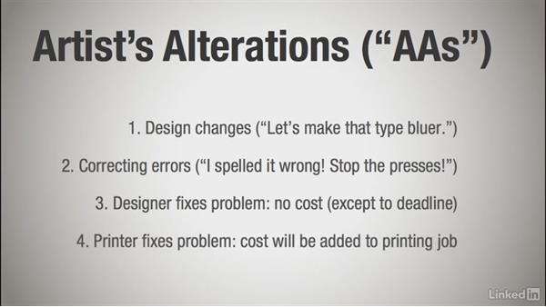 Handling corrections and alterations: Learning Print Production