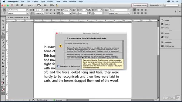 Font concerns: Learning Print Production