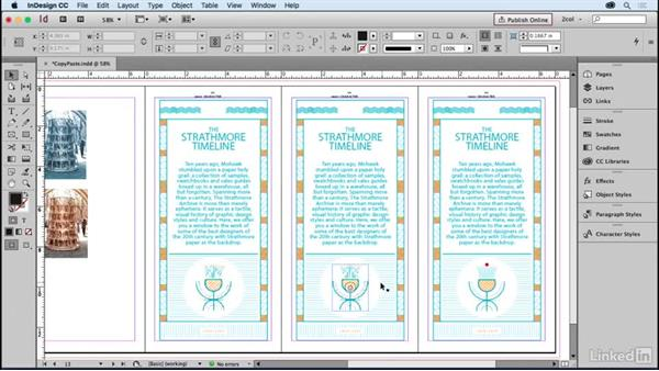 Copying and pasting graphics: Learning Print Production