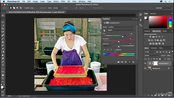 Using touch-up tools: Learning Print Production