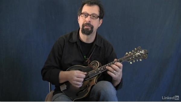 Circle of fifths part 7: Around the circle in 2-5-1 arpeggios: Mandolin Lessons with Mike Marshall: 4 Favorite Advanced Tunes