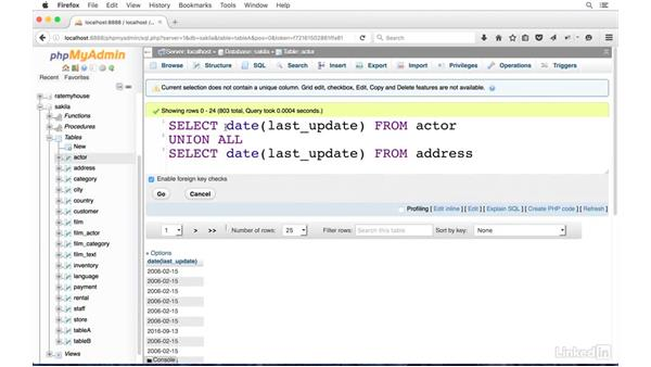 Combine rows with SQL UNION: SQL for Data Reporting and Analysis