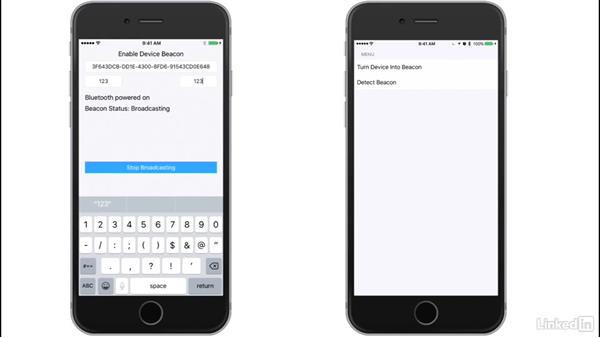 What we will build: Deliver Location-Based Notifications with iBeacons in iOS