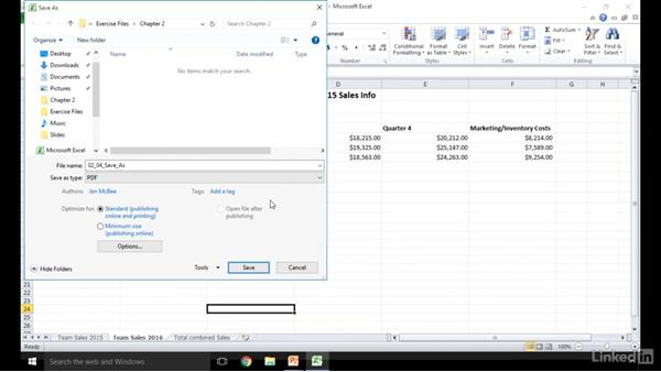 Save Excel files in different formats: Excel 2010: Prepare for the Microsoft Office Specialist Certification Exam (77-882)