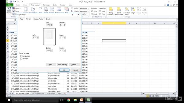 Manipulate Page Setup options for worksheets: Excel 2010: Prepare for the Microsoft Office Specialist Certification Exam (77-882)
