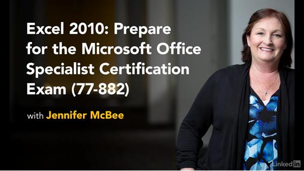 Next steps: Excel 2010: Prepare for the Microsoft Office Specialist Certification Exam (77-882)