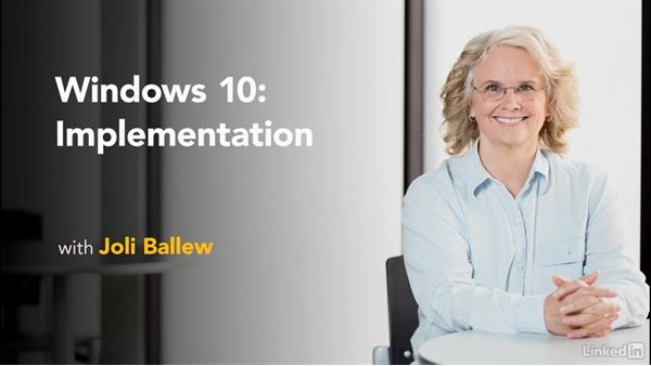 Next steps: Windows 10: Implementation
