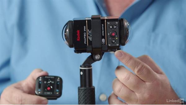 Camera setup: 360 Video Workflow