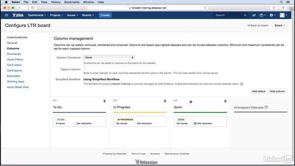 Configure your taskboard in JIRA: Comparing Agile Software Tools
