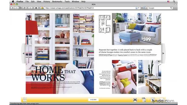 Digital catalogs: InDesign CS4: Interactive Documents and Presentations