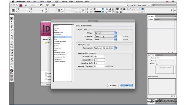 Working in pixels: InDesign CS4: Interactive Documents and Presentations