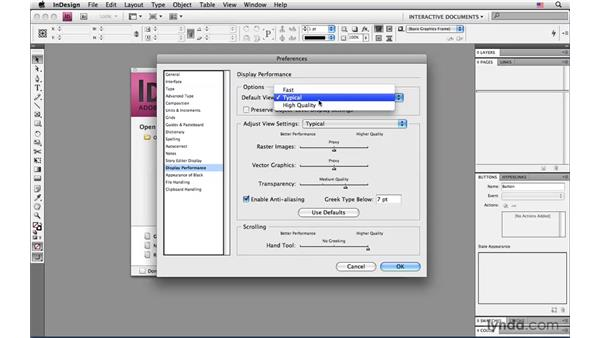 Other helpful preference changes to make: InDesign CS4: Interactive Documents and Presentations