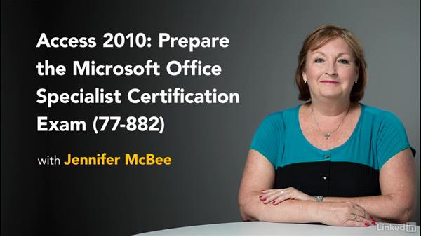 Next steps: Access 2010: Prepare for the Microsoft Office Specialist Certification Exam (77-885)