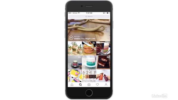 Tour of the Instagram user interface: Instagram for Business