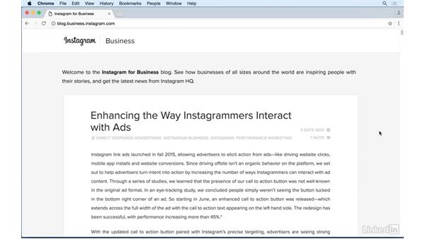 Discovering the Instagram for business blog: Instagram for Business