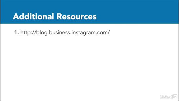 Additional resources: Instagram for Business