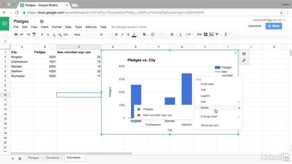 Add an additional Y-axis to a chart: Google Sheets Advanced Tips and Tricks