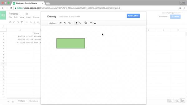 Insert a drawing into a Google Sheet: Google Sheets Advanced Tips and Tricks