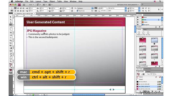 Redefining a paragraph style: InDesign CS4: Interactive Documents and Presentations