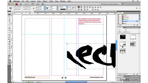 Using Proportional Place to scale images while placing them: InDesign CS4: Interactive Documents and Presentations