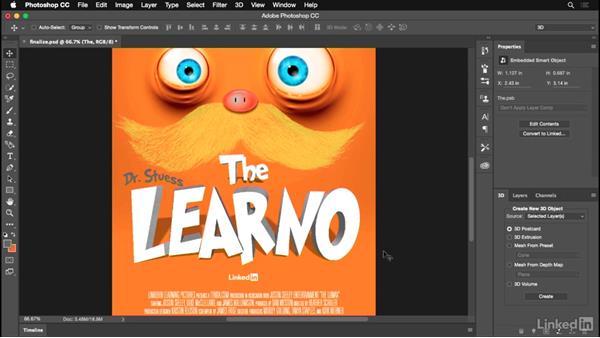 Finalizing your design: Photoshop for Designers: Practical 3D Designs