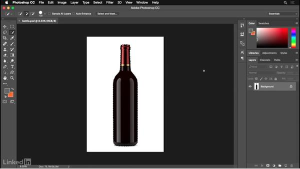 Preparing the original photo: Photoshop for Designers: Practical 3D Designs