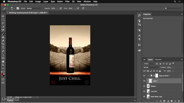 Adding the finishing touches: Photoshop for Designers: Practical 3D Designs