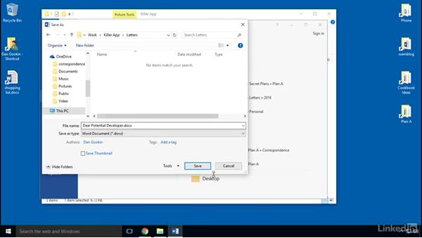 Building folders: Organizing Files and Folders in Windows 10