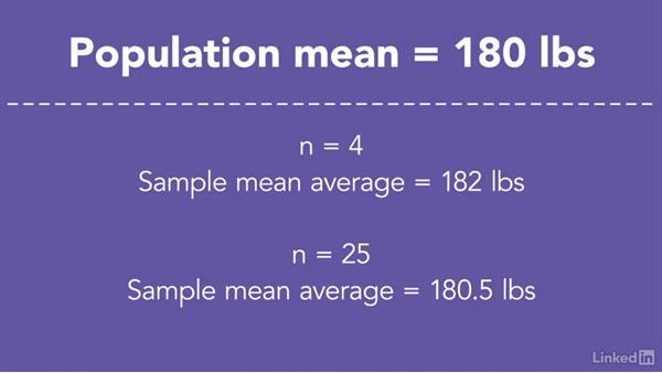 Sampling distribution of the mean: Statistics Fundamentals - Part 2: Intermediate