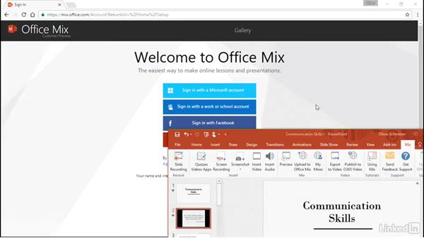 Create flipped classes with Office Mix: Office 2016 for Educators