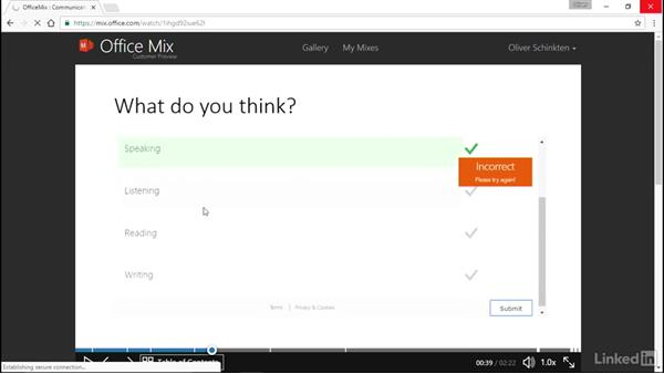 Share your Office Mix with students: Office 2016 for Educators