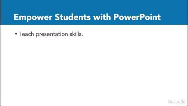 Empower students with PowerPoint: Office 2016 for Educators