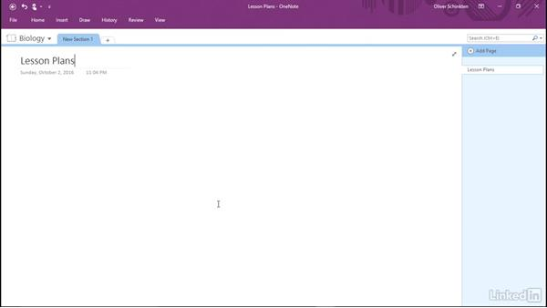Introduction to OneNote for educators: Office 2016 for Educators