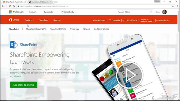 SharePoint: Office 2016 for Educators