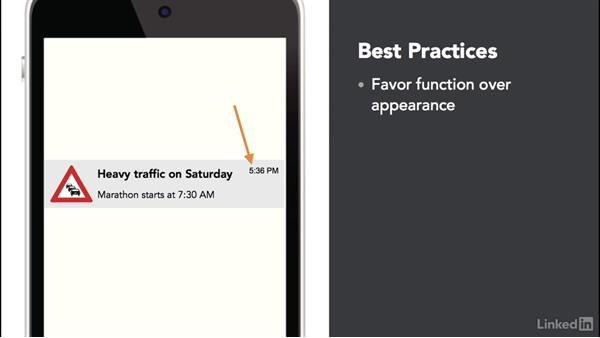 Best practices for using notifications: Android: Communicating with the User