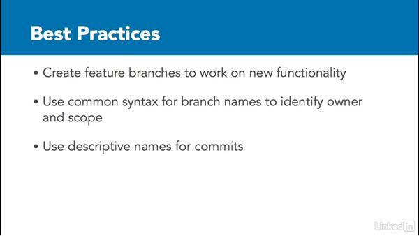Pull request and branching best practices: Visual Studio Team Services: The Basics