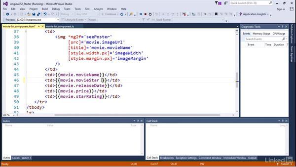 Transforming data: Angular2 for .NET Developers